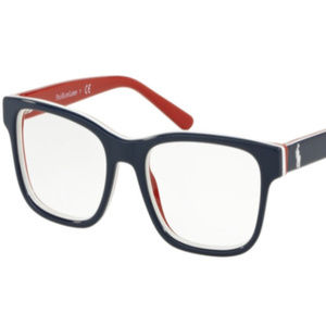POLO Accessories - NWT Polo PH 8534 5667 Shiny Blue Eyeglasses